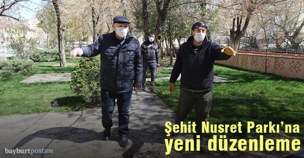Şehit Nusret Parkı'na yeni düzenleme