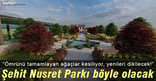 Şehit Nusret Parkı'ndaki çalışmalarla ilgili bilgilendirme