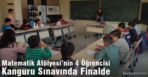 Matematik Atölyesi'nin 4 Öğrencisi Kanguru Sınavında Finalde