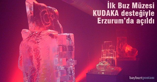 Türkiye'nin İlk Buz Müzesi, KUDAKA Desteğiyle Erzurum'da Açıldı