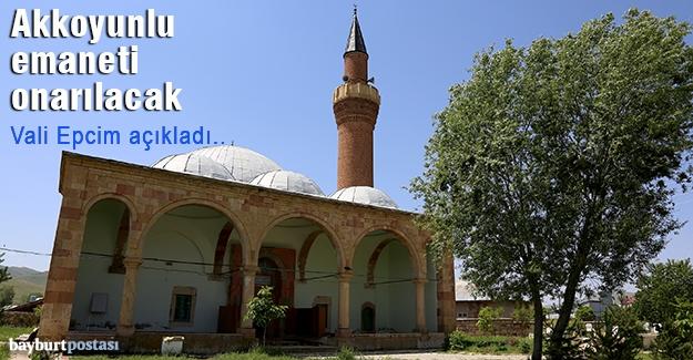 Vali Epcim açıkladı: Ferahşad Bey Cami onarılacak