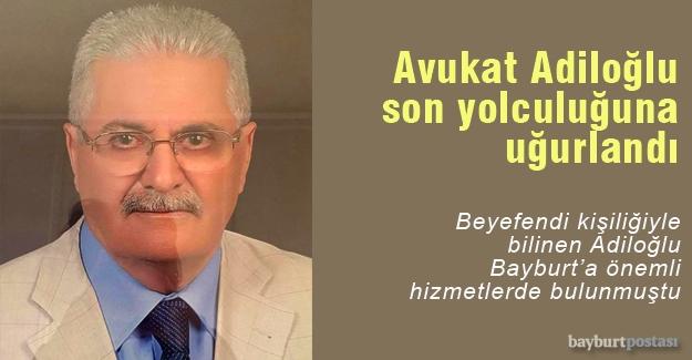 Avukat Atilla Adiloğlu hayatını kaybetti!