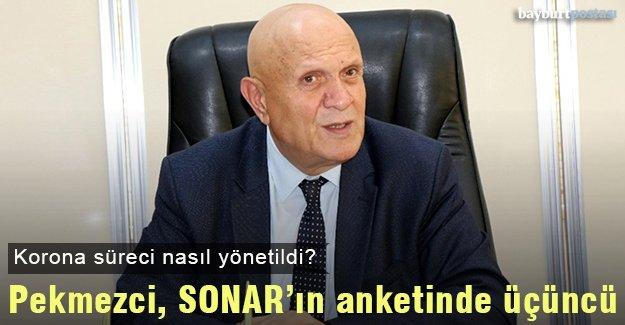 Başkan Pekmezci, SONAR'ın anketinde üçüncü