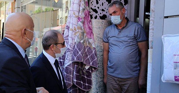 Bayburt'ta Koronavirüs Tedbirleri Denetlendi
