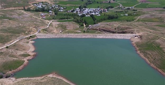 Kitre Göleti, 2 bin 270 dekar araziyi suyla buluşturdu