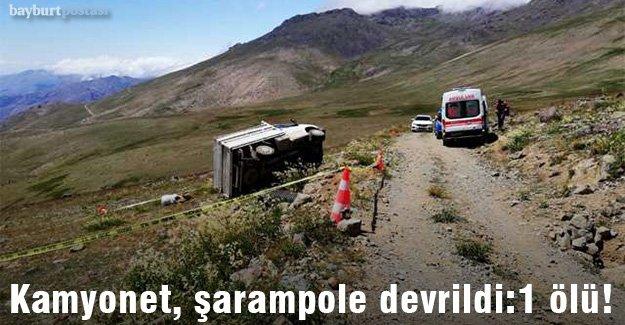 Yazyurdu'nda kaza: 1 ölü!