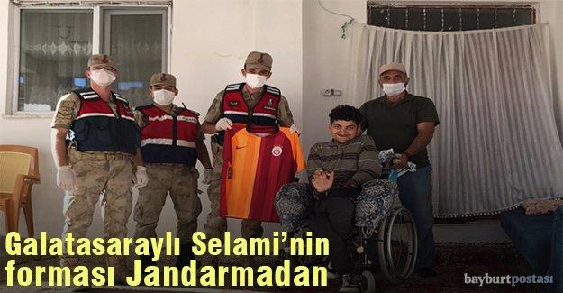 Galatasaraylı Selami'nin forması Jandarmadan