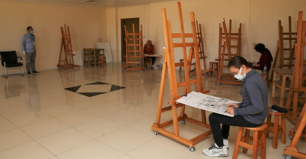 'Resim Bölümü Özel Yetenek Sınavı' Tamamlandı