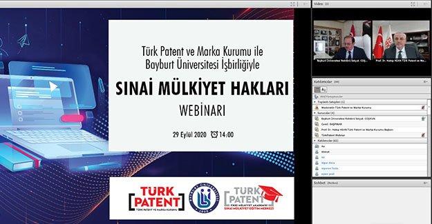 Türk Patent Birimi Bayburt Üniversitesi'nde
