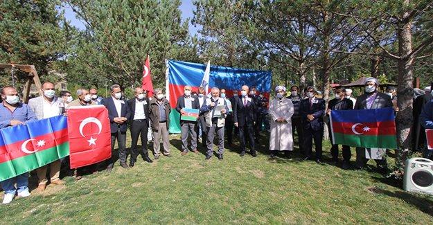 Bayburt'tan Azerbaycan'a destek açıklaması
