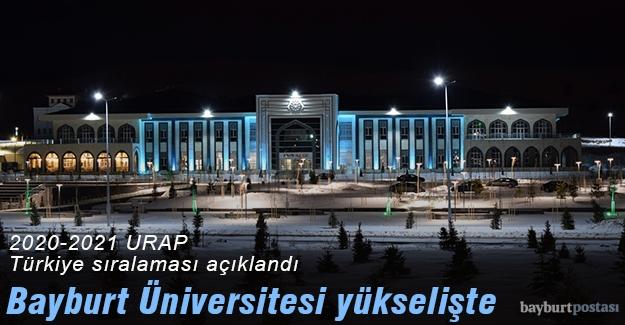 Bayburt Üniversitesi, URAP sıralamasında yükselişte