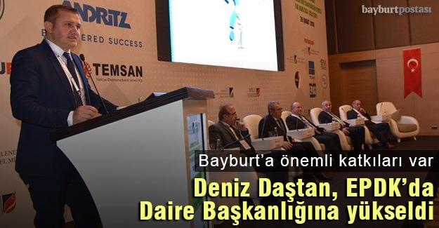 Bayburtlu bürokrat Deniz Daştan, EPDK'da Daire Başkanlığına yükseldi