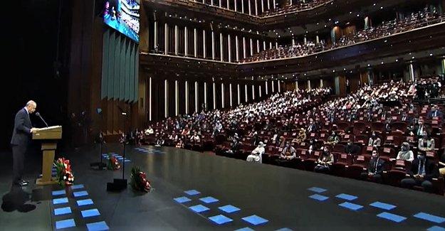 Rektör Coşkun, Akademik Yıl Açılış Törenine Katıldı