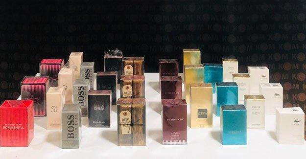Yol uygulamasında kaçak parfüm ele geçirildi!