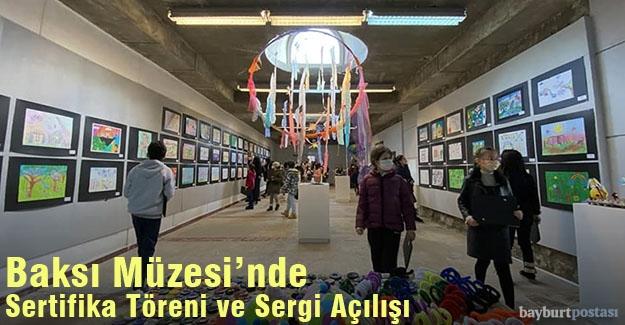 Baksı Müzesi 8. Öğrenci Sanat Şenliği'nde Sertifika Töreni ve Sergi