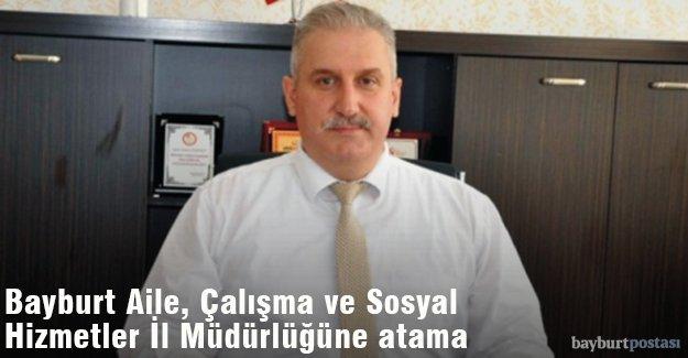 Bayburt Aile, Çalışma ve Sosyal Hizmetleri İl Müdürü Kemal Gümrükçü