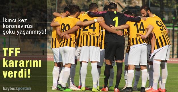 Bayburt Özel İdarespor'un iki maçı ertelendi!