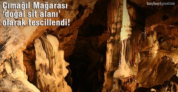 Çımağıl Mağarası, 'doğal sit alanı' olarak tescillendi