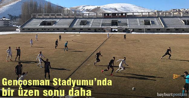 Gençosman Stadyumu'nda bir üzen sonuç daha