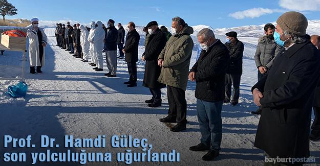 Prof. Güleç, son yolculuğuna uğurlandı