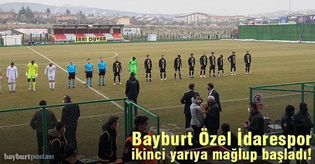 Bayburt Özel İdarespor, Elazığ'da mağlup!