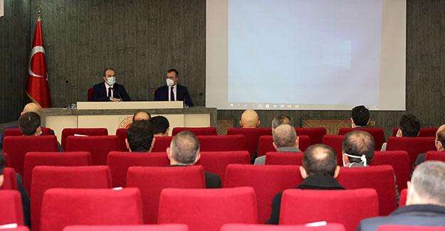İl Koordinasyon Kurulu'nda 2021'de Planlanan Yatırımlar Değerlendirdi