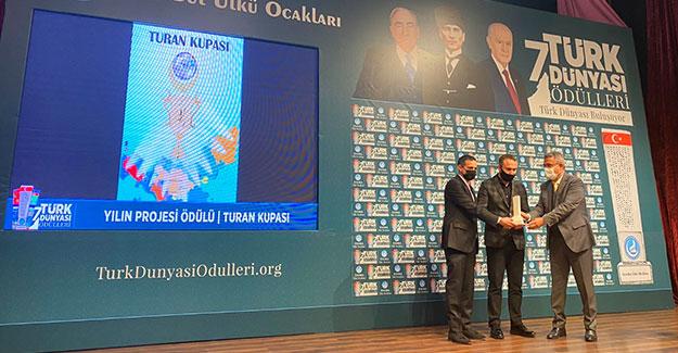 7. Türk Dünyası Ödülleri Sahiplerini Buldu