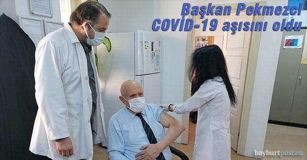 Başkan Pekmezci, Covid-19 Aşısını oldu