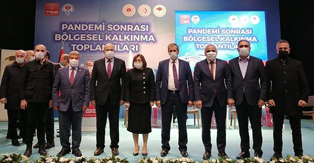 Başkan Pekmezci, Pandemi Sonrası Bölgesel Kalkınma Toplantısına Katıldı