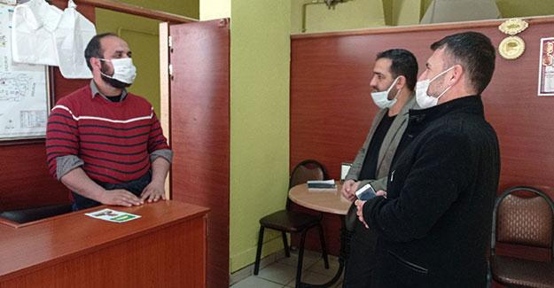 HÜDA PAR'dan esnaf ve STK ziyaretleri