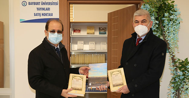 Ayhan Tuğlu'danBayburt Üniversitesi'ne Ziyaret