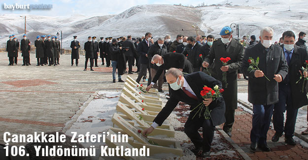 Bayburt'ta Çanakkale Zaferi ve Şehitleri Anma Günü