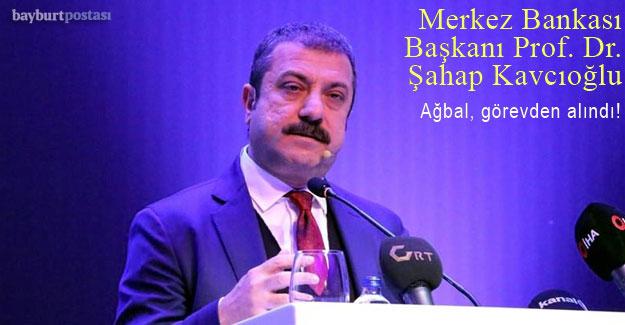 Merkez Bankası Başkanı Prof. Dr. Şahap Kavcıoğlu