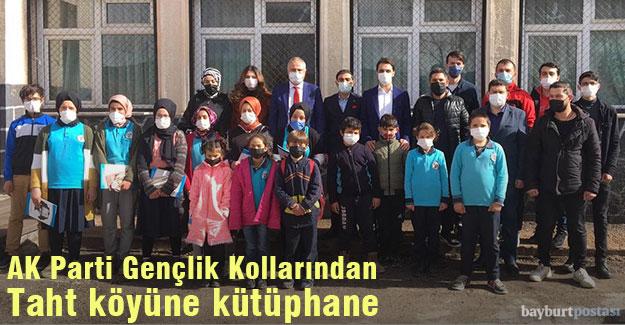 AK Parti Gençlik Kolları, Taht köyüne kütüphane kurdu