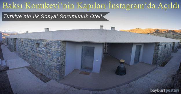 Baksı Konukevi'nin Kapıları Instagram'da Açıldı
