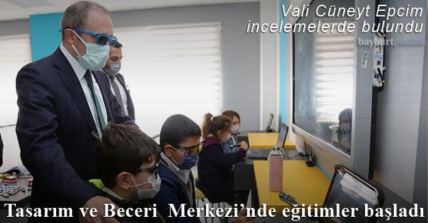 Tasarım ve Beceri Merkezi'nde eğitimler başladı
