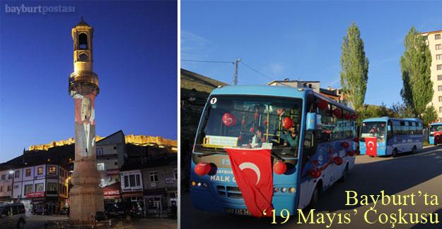 Bayburt'ta '19 Mayıs' Coşkusu