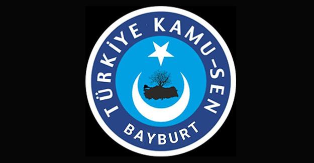 """Türkiye Kamu-Sen Bayburt Şubesi: """"İsrail'den yaptıklarının hesabının sorulmalı"""""""