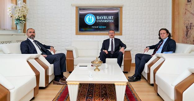Bıçakçı ve Bilgin'den Rektör Türkmen'e ziyaret