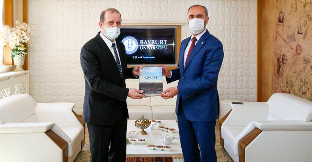KTÜ Rektörü Çuvalcı'dan Rektör Türkmen'e Ziyaret