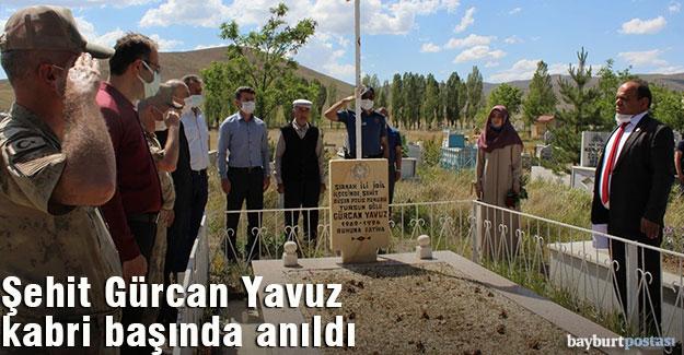 Şehit Gürcan Yavuz, mezarı başında anıldı