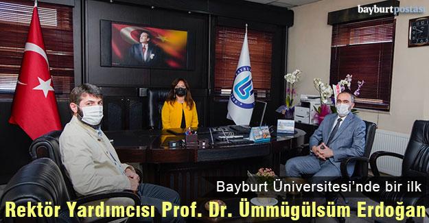 Bayburt Üniversitesi Rektör Yardımcısı Prof. Dr. Ümmügülsüm Erdoğan