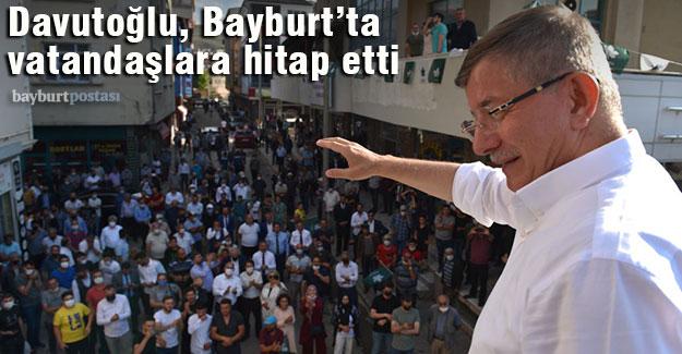 Gelecek Partisi Genel Başkanı Ahmet Davutoğlu'nun Bayburt programı