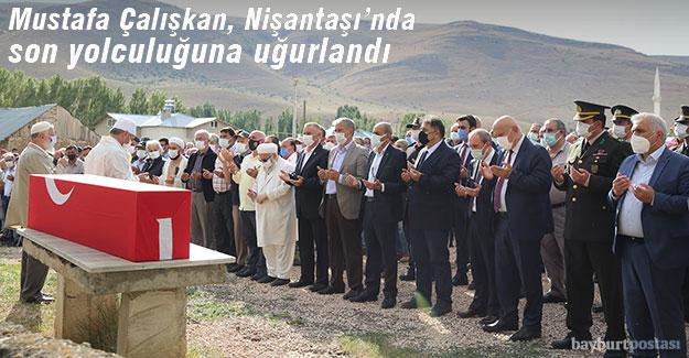 Jandarma Uzman Onbaşı Mustafa Çalışkan son yolculuğuna uğurlandı