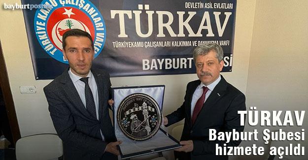TÜRKAV Bayburt Şubesi, Genel Başkan Korkmaz'ın katılımıyla hizmete açıldı