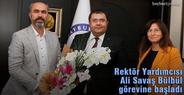 Bayburt Üniversitesi Rektör Yardımcısı Prof. Dr. Ali Savaş Bülbül