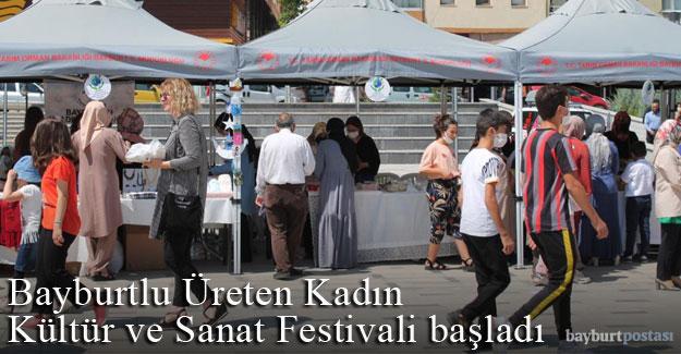 Bayburtlu Üreten Kadın Kültür ve Sanat Festivali