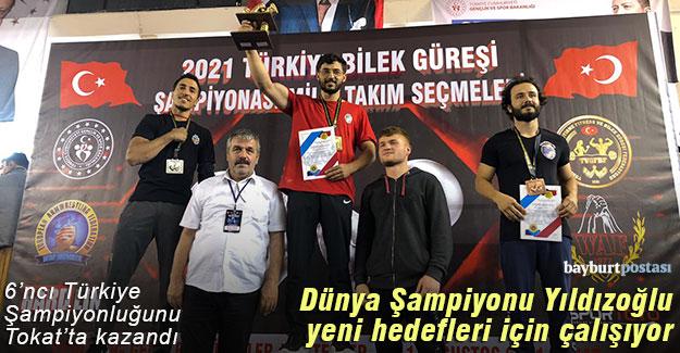 Dünya Şampiyonu Yıldızoğlu'nun yeni hedefi hem Avrupa, hem Dünya Şampiyonluğu