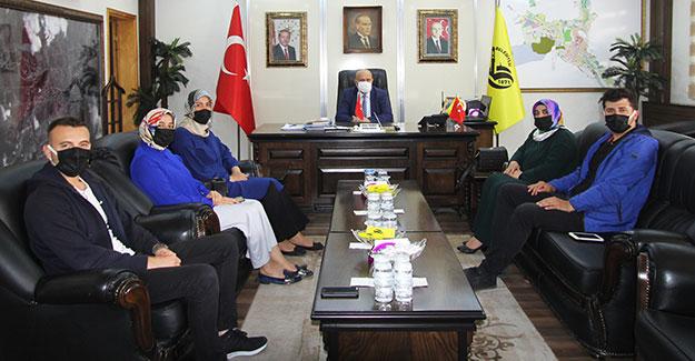 Ümit Derneğinden Başkan Pekmezci'ye ziyaret