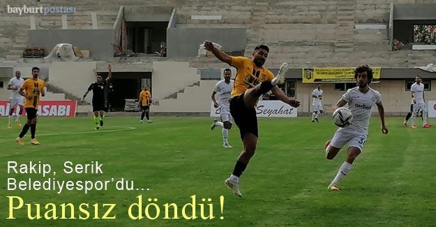 An Zentrum Bayburt Özel İdarespor, Serik'i iki golle geçti!